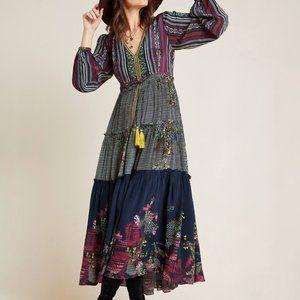 Anthropologie Tatiana Tiered Maxi Dress
